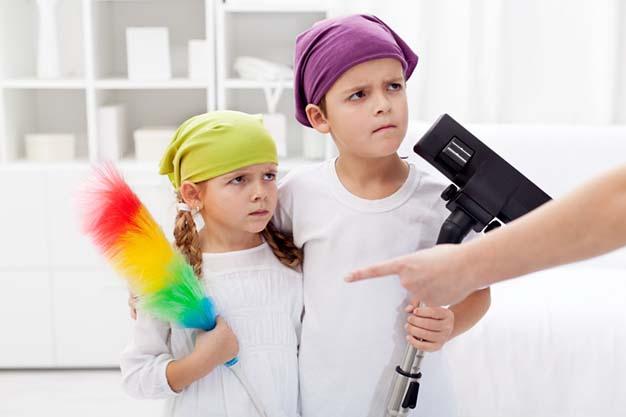 مسئولیت پذیری در کودکان زیر ۹ سال با روشهایی پیش پا افتاده